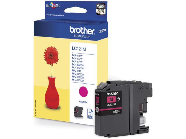 Inkjet Brother LC-121M magenta