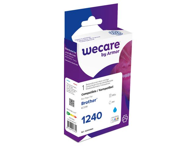 Inkjet Wecare BROTHER LC1220/40 cyan