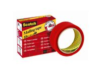 Scotch® Verzegeltape 820 35 mm x 33 m, rood (rol 33 meter)