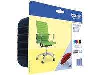 Brother Brother LC229XL Value-Pack - 4 - zwart, geel, cyaan, magenta - origineel - inktcartridge (pak 4 stuks)
