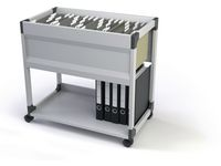 Durable System File Trolley A4 grijs