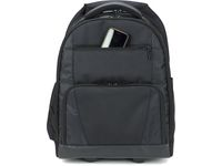 Targus Sport Laptoptas Rolling Backpack Laptoptas, Rugtas, 15.6 inch, Zwart